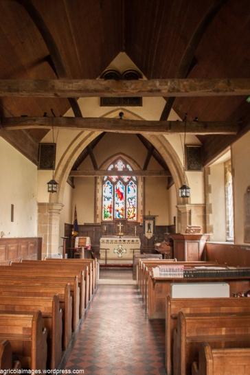 Interior of East Chiltington Church