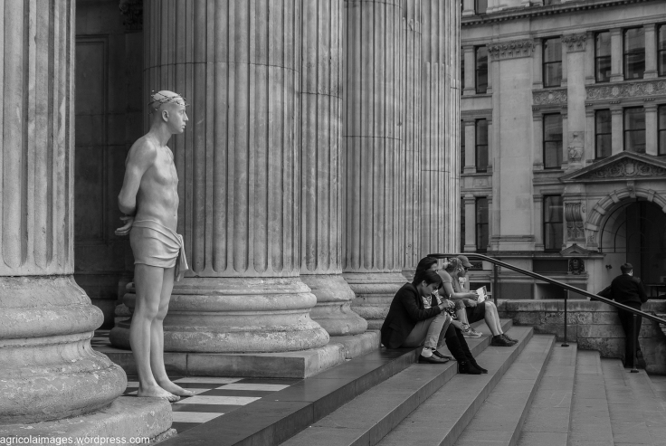 Ecce Homo on the steps